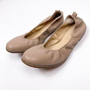 Botkier Mason Blush Leather Ballet Flats